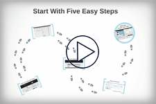 Video - Start with five easy steps
