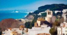 Vistas panorámicas de Sant Pol de Mar